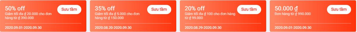 Mã giảm giá Lazada 2020